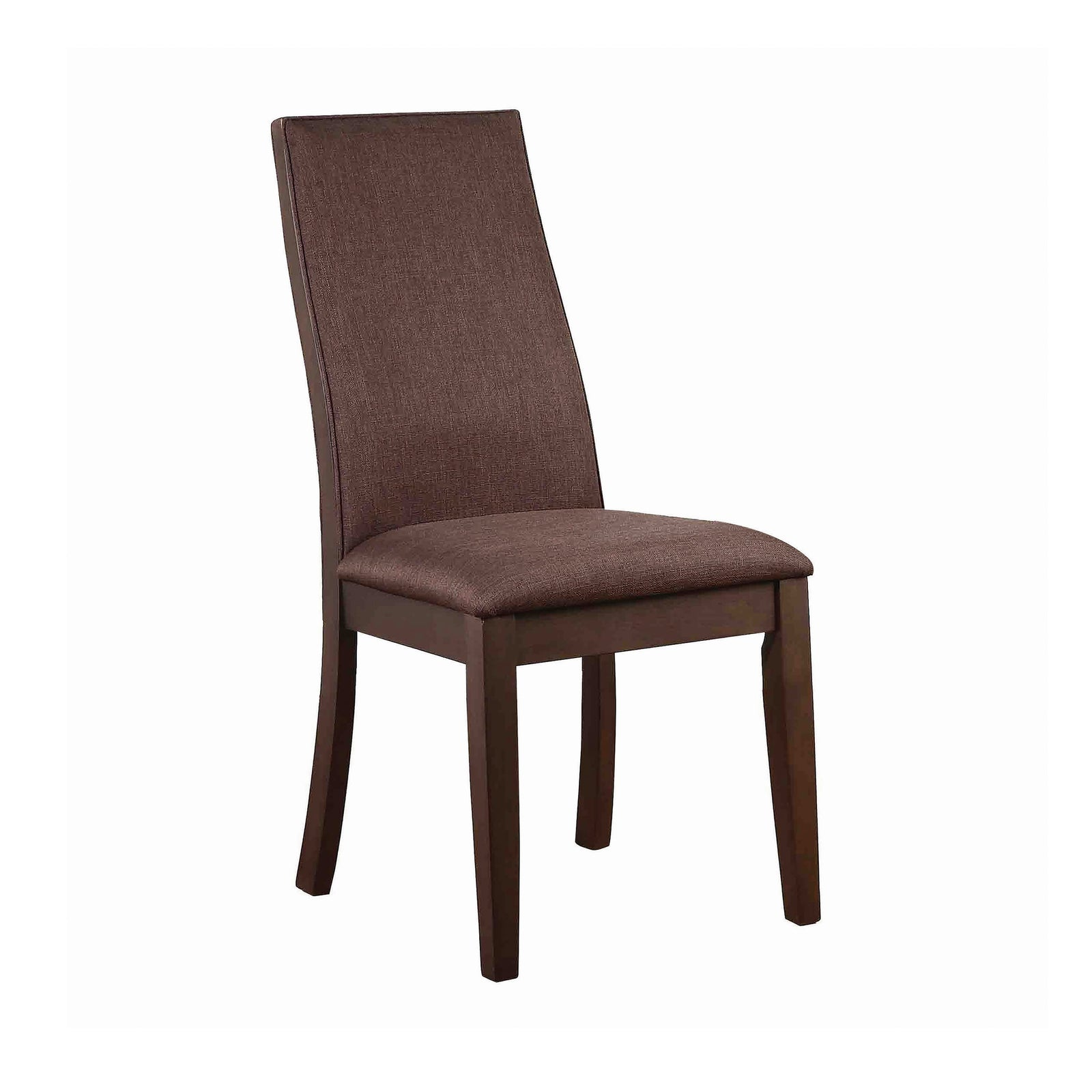 Coaster 106582 | Armless Upholstered Side Chairs Espresso Set Of 2
