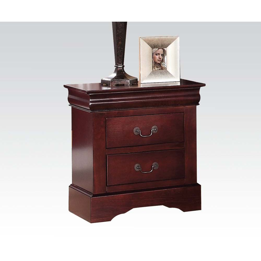Saddle Brown End Table Side Table Bedroom Nightstand With Two Drawers BH19503 BH19523 BH24503 BH25503