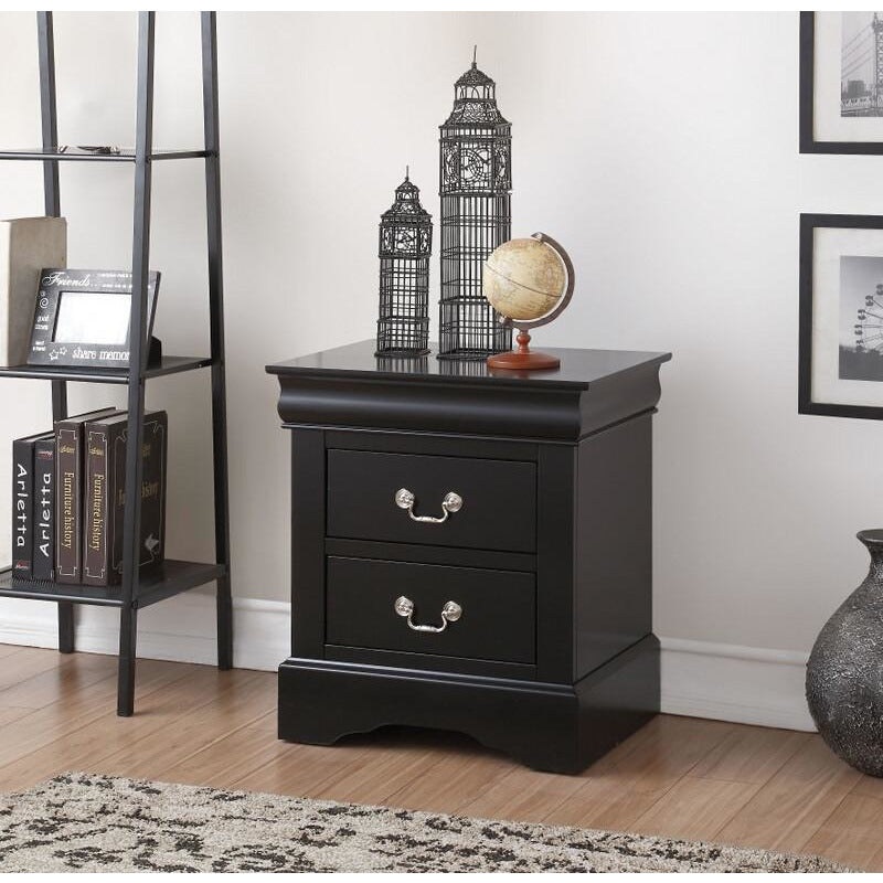 Dark Slate Gray End Table Side Table Bedroom Nightstand With Two Drawers BH19503 BH19523 BH24503 BH25503