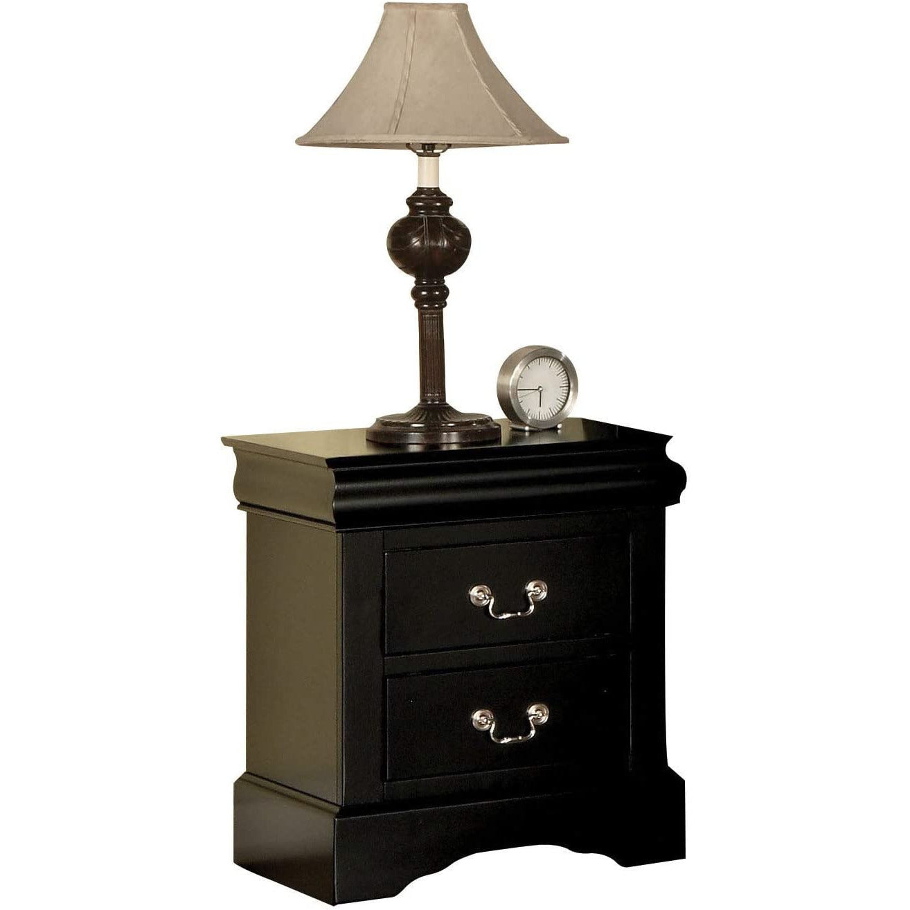 Rosy Brown End Table Side Table Bedroom Nightstand With Two Drawers BH19503 BH19523 BH24503 BH25503