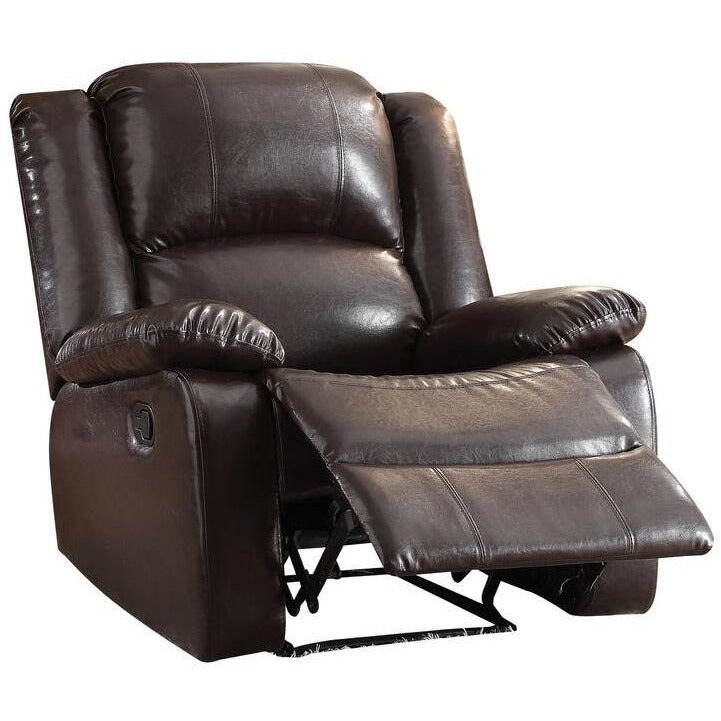 Black Vita Recliner (Motion) in Espresso PU BH59470