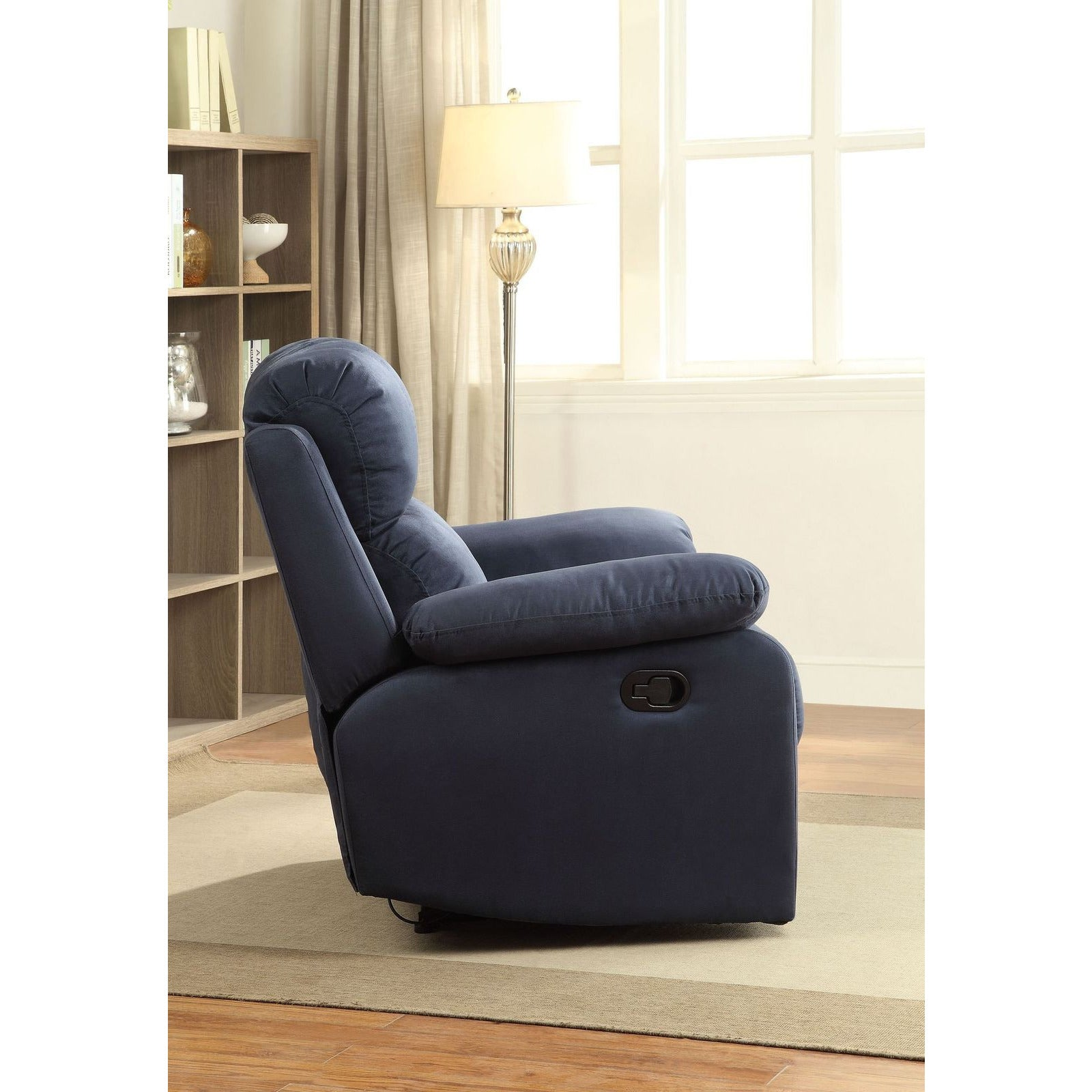 Parklon Recliner (Motion) in Blue Microfiber BH59476