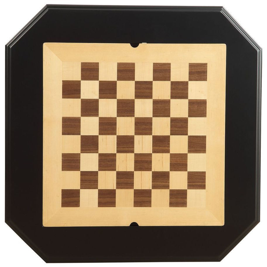 Light Goldenrod Game Table Reversible Game Tray 3-in-1 Chess, Checker, & Backgammon BH82846 BH82844