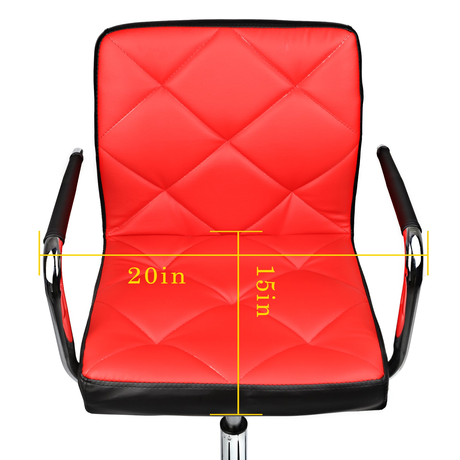 Comfortable Mid Back Modern Adjustable Swivel Home Office Chair Desk Chair Computer Chair w/Armrest Multi Color