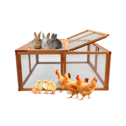 Wooden Outdoor Chicken Coop