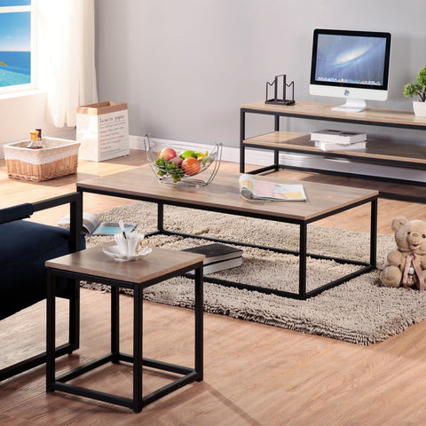 Coaster 723158 Rectangular Coffee Table With Drawers Aged Walnut
