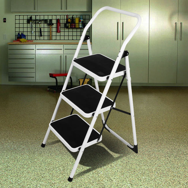 Folding Step Ladder Platform Lightweight