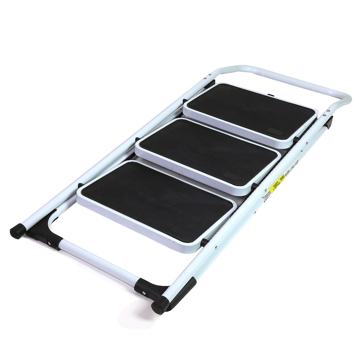Dark Slate Gray Folding Step Ladder Platform Lightweight