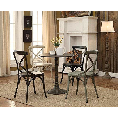 Coaster 100063 | Oswego Round Top Counter Height Bistro Table Dining Sides Desk Bronze