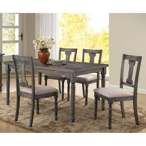 Coaster 110331 | Rectangular Live Edge Trestle Dining Table