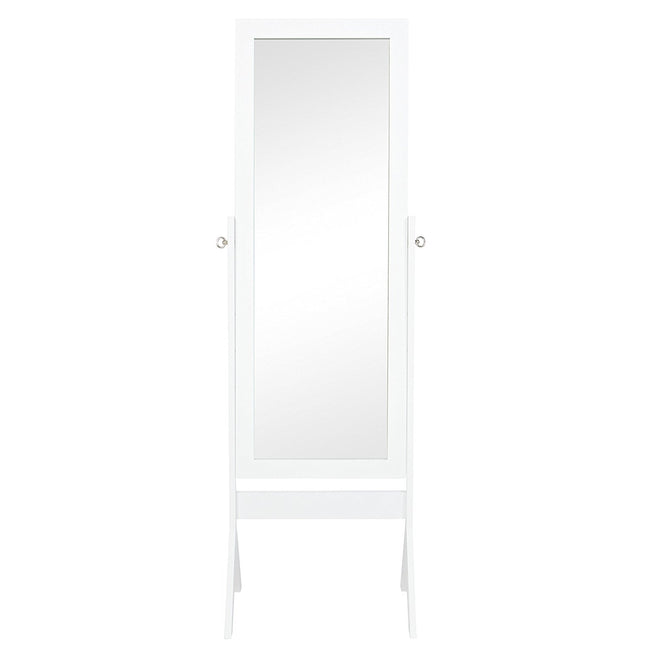 Full Length Floor Mirror Home Decor Furniture Espresso White