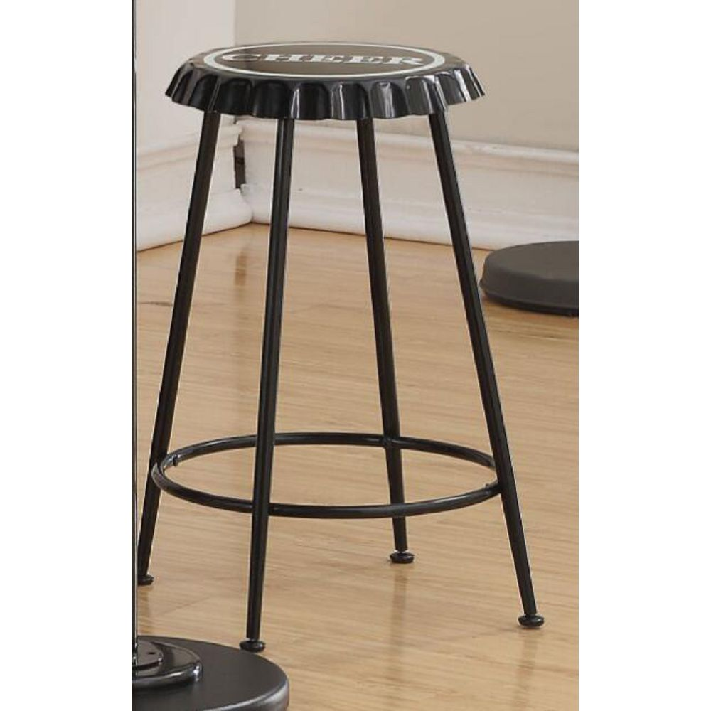 Set Of 2 Mant Round Counter Height Stool Backless BH72702 BH72707