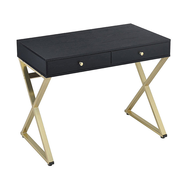 "Coleen ""X"" Shape Legs Desk With 2 Drawers BH92310 BH92612"