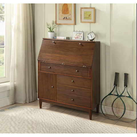 Tablita Chest With Drawers Dark Merlot Bedroom BH27466