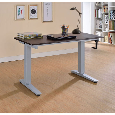 L-Shaped Writing Desk With Metal Base BH92805 BH92809