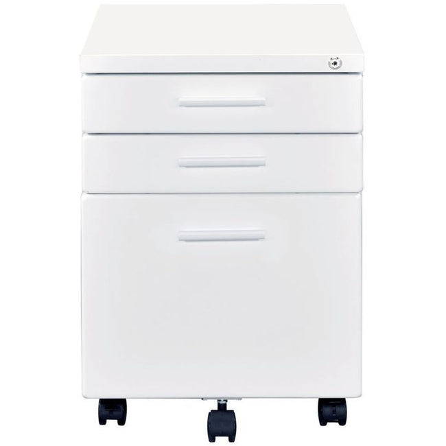 Peden File Cabinet Safety Lock Included White BH92882