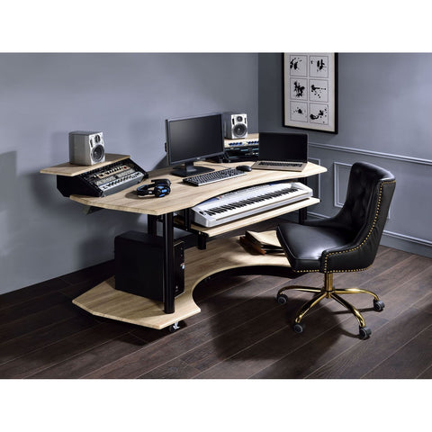 Lyphre Computer Desk W/Keyboard Tray + Shelf + Storage Compartment BH92760 BH92762 BH92764