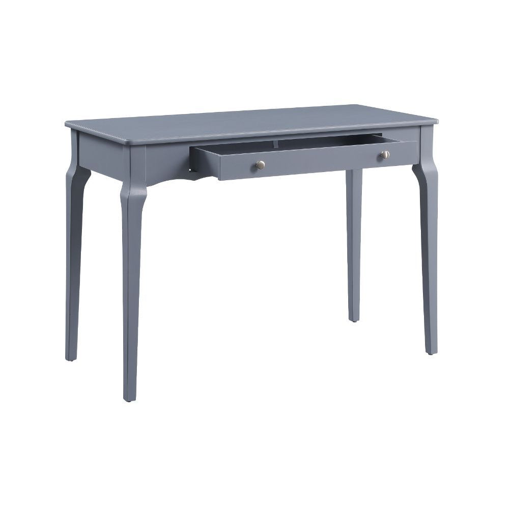 Slate Gray Rectangular Wooden Writing Desk With 1 Storage Drawer BH93019 BH93020 BH93023 BH93024