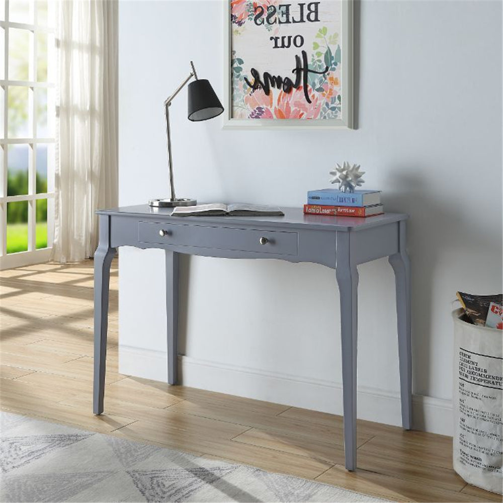 Dim Gray Rectangular Wooden Writing Desk With 1 Storage Drawer BH93019 BH93020 BH93023 BH93024