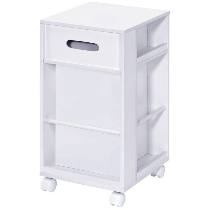 Lavender Nariah Storage Cart With Casters Wheels BH97218 BH97217