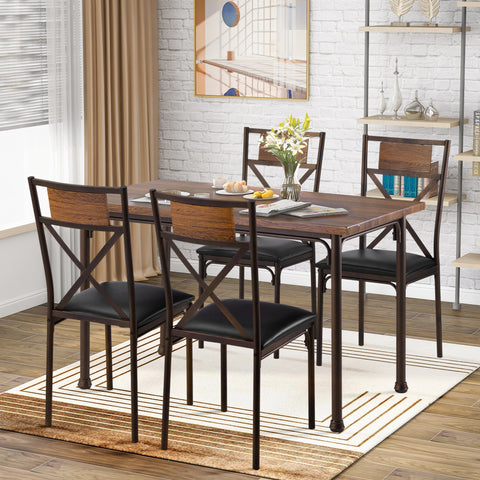 3 Counts - Modern Pub Set with Rectangular Table and Bar Stools BH194723