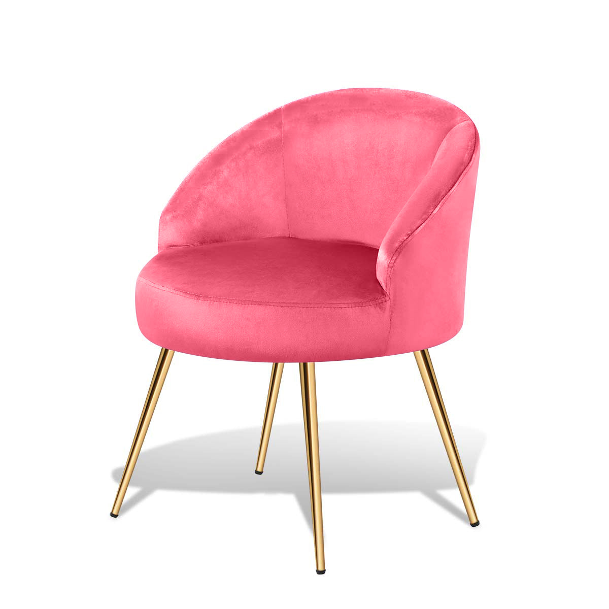 Macaron Dining Living Room Upholstered Chairs Table Side Guest Chairs