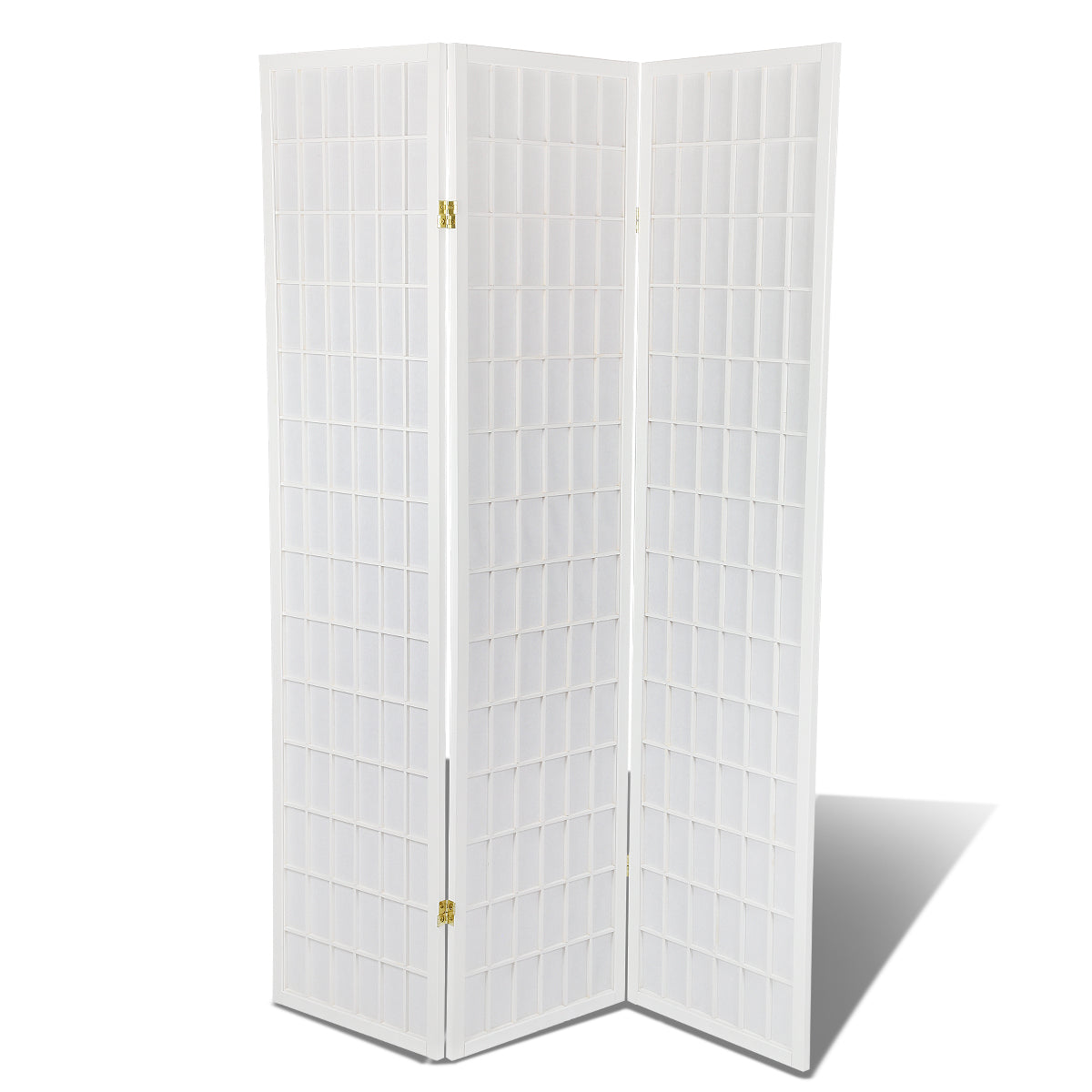 3 Panels Oriental Folding Room Divider Screen Hardwood Shoji Screen Room Separator Partition Wall
