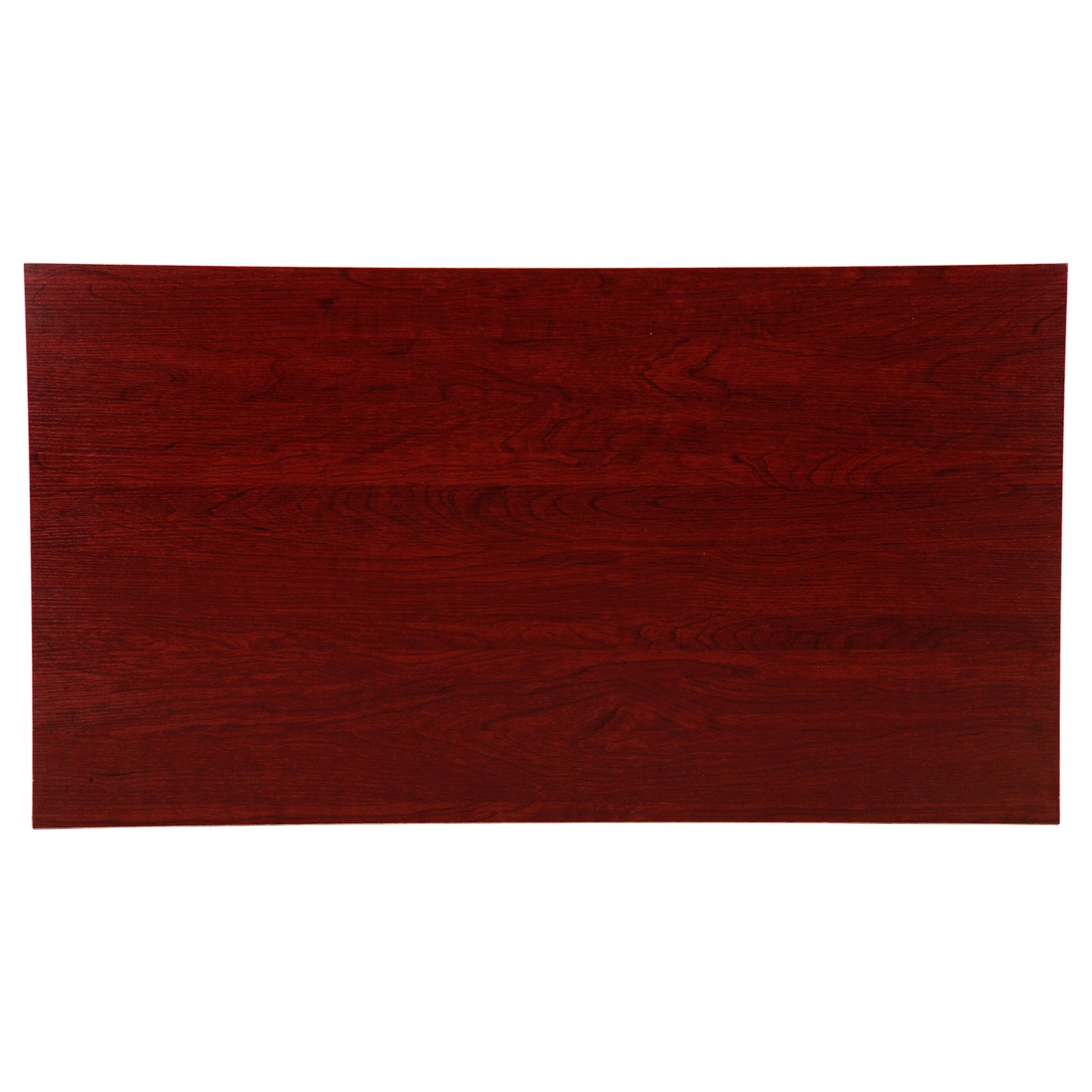 Coffee Table Dining Table - Red Brown - Top