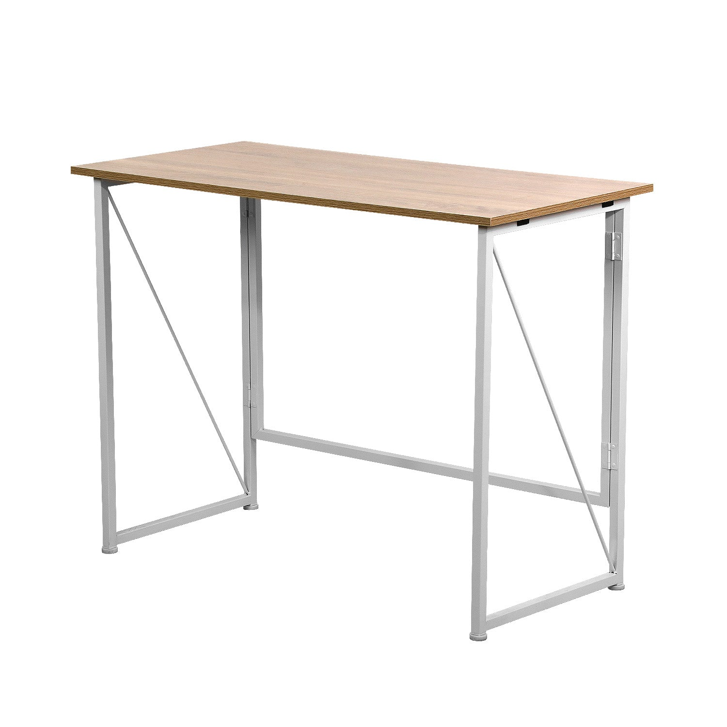 Gray Foldable Writing Computer Desk  40 inch