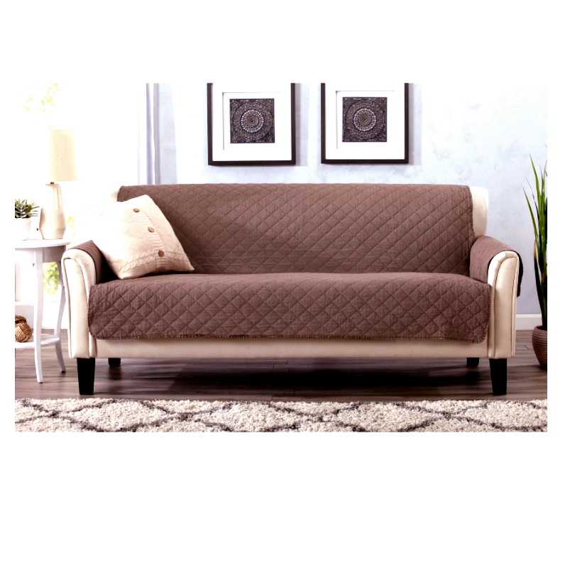 Chair Loveseat Sofa Protect Protector Cover Brown