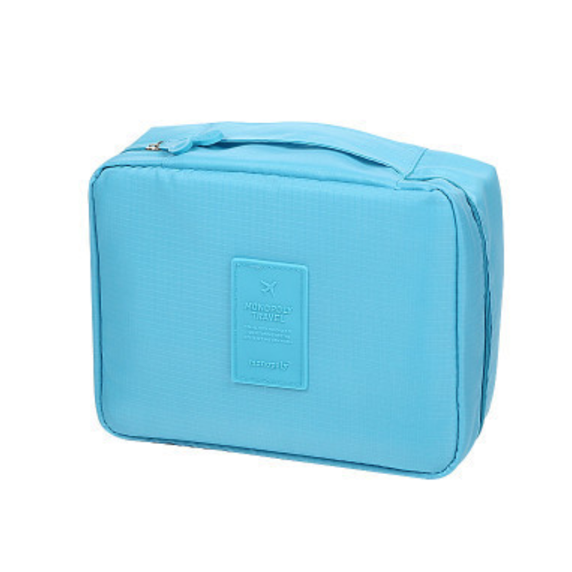 Travel Cosmetic Makeup Toiletry Wash Organizer Storage Pouch Zip Bag