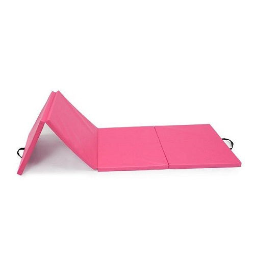 Pale Violet Red Light Weight Folding Thick Gymnastics Mat Tumbling Exercise Gym Yoga Aerobic Mat Cheap Gym Mat Multi Colors