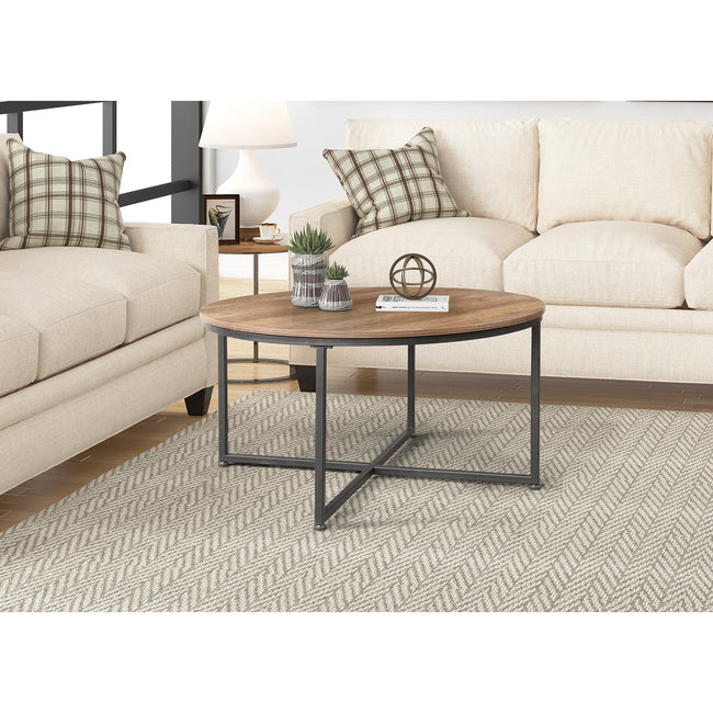 Modern Round Metal Coffee Table BH42721079