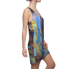 """Wave"" Women's Cut & Sew Racerback Dress"