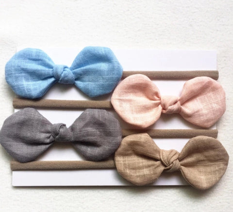 Baby soft Head Band 4pc set