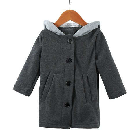 Hooded Rabbit Ear Coat