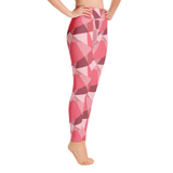 P&P Yoga Leggings Pink Triangles