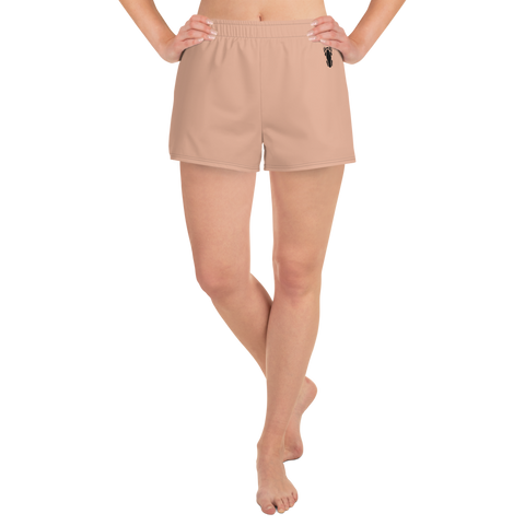 P&P Women's Athletic Short Shorts Classic Peach