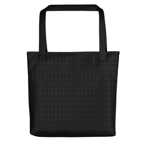 P&P Tote bag Black Logo Star