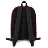 P&P Backpack Hot Pink Plaid/Hearts