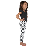 P&P Kid's Leggings Black Logo