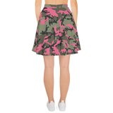 P&P Skirt Green/Pink Camo