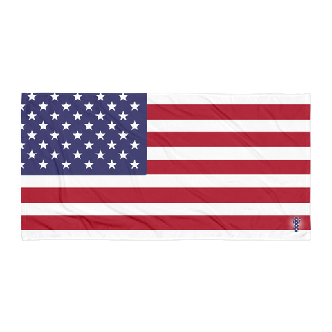 P&P Towel US Flag