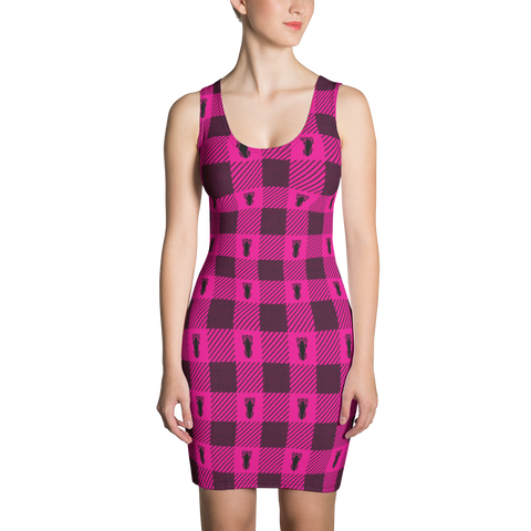 P&P Dress Pink Plaid
