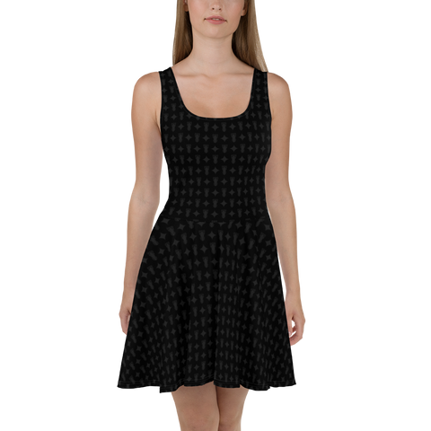 P&P Dress Black Logo Star