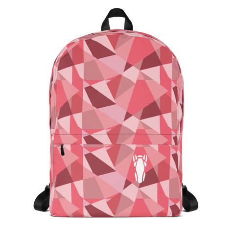 P&P Backpack Pink Triangles