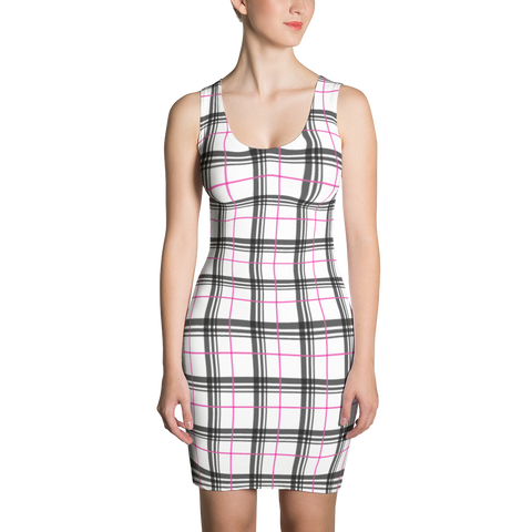 P&P Dress Plaid Logo