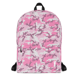 P&P Backpack Horse Girl Black/Pink Camo
