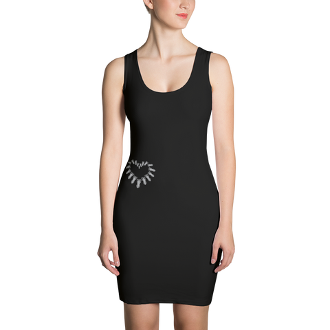 P&P Dress Heart Black