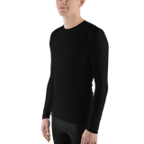P&P Men's Rash Guard Classic Black
